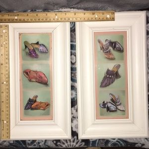 Vintage Shoes Framed Prints